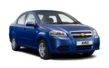 Кузовные пороги для Chevrolet Aveo T250