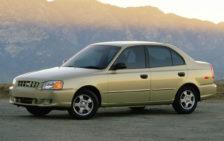Кузовные пороги для Hyundai Accent