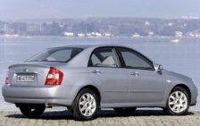 Кузовные пороги для Kia Cerato 1<br>2004-2006