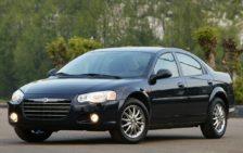 Кузовные пороги для Chrysler Sebring / Dodge Stratus